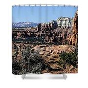 Kodachrome Basin Panorama Shower Curtain