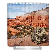 Kodachrome Basin State Park Panorama Shower Curtain