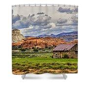 Kodachrome Cabin Shower Curtain