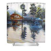 Kodaikanal Lake Shower Curtain