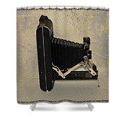 Kodak A 116 Folding Bellows Camera 1921 Shower Curtain