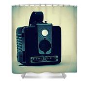 Kodak Brownie Shower Curtain by Bob Orsillo