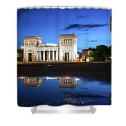 Koenigsplatz - After The Rain Shower Curtain