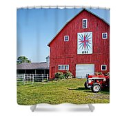 Kohler Barn Shower Curtain