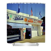 Kohrs Ice Cream Seaside Park Shower Curtain