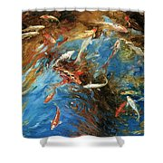 Koi I Shower Curtain