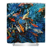 Koi IIi Shower Curtain
