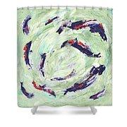 Koi Joy Shower Curtain