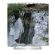 Koi Pond Waterfall Shower Curtain