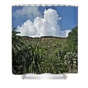 Koko Crater Trail Shower Curtain