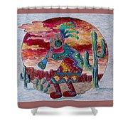 Kokopelli 7 Shower Curtain