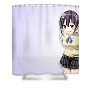 Kokoro Connect Shower Curtain