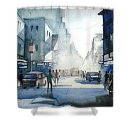 Kolkata City Shower Curtain