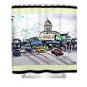Kolkata Street Shower Curtain