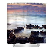 Koloa Sunrise Shower Curtain