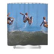 Kolohe Andino Compilation Shower Curtain