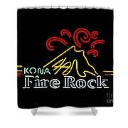 Kona Fire Rock 2 Shower Curtain