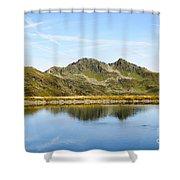 Konigsleiten Mountain Top. Tyrol, Austria Shower Curtain