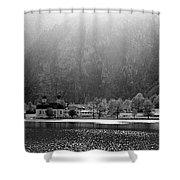 Konigssee Lake And Saint Bartoloma Shower Curtain