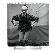 Koo Koo The Bird Girl Front Shower Curtain