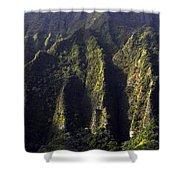 Koolau Range, Oahu Shower Curtain