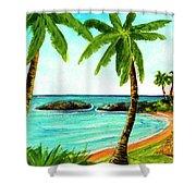 Koolina Lagoon Oahu, Hawaii #343 Shower Curtain