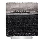 Kootenai Valley Farm Shower Curtain