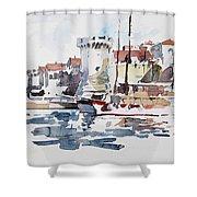 Korcula,croatia Shower Curtain