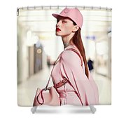 Korean Beauty  Shower Curtain