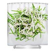 Korean Traditional Fresh Vegetable Salad Shower Curtain