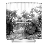 Korean War, 1952 Shower Curtain