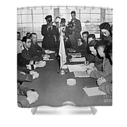 Korean War, 1953 Shower Curtain
