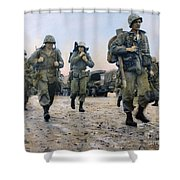 Korean War: Marines, 1953 Shower Curtain
