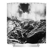 Korean War: Trenches, 1952 Shower Curtain