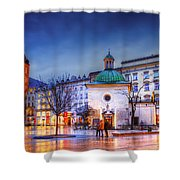 kosciol swietego Wojciecha Shower Curtain