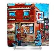 Kosher Bakery On Hutchison Street Shower Curtain