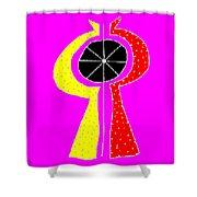 Kosmikon Shower Curtain by Eikoni Images