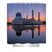 Kota Kinabalu City Mosque I Shower Curtain