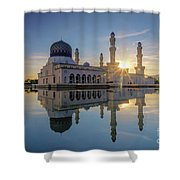 Kota Kinabalu City Mosque II Shower Curtain