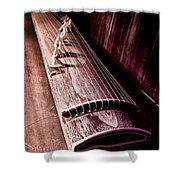 Koto - Japanese Harp Shower Curtain