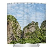 Krabi, Thailand Shower Curtain