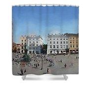 Krakow, Town Square Shower Curtain