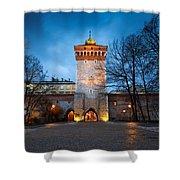 krakow 'X Shower Curtain