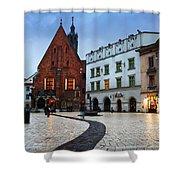 krakow 'XI Shower Curtain