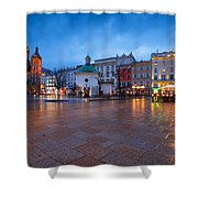 krakow 'XII Shower Curtain