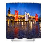 krakow 'XIII Shower Curtain