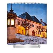 kremnica 'XI Shower Curtain