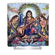 krishna - Kirtan  Shower Curtain