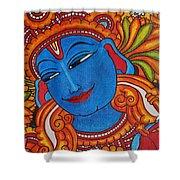 Krishna Shower Curtain