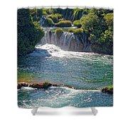 Krka National Park Waterfalls 5 Shower Curtain